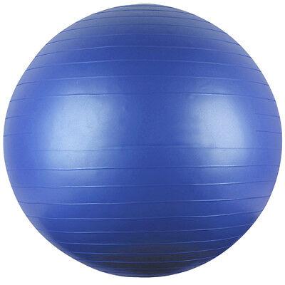"ANTI-BURST Physio Balance Yoga Fitness 75cm Gym BALL Exercise 30"" Inflatable NEW"