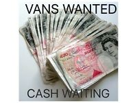 ########VANS WANTED#######