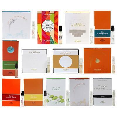 Hermes assorted women fragrances mini sample spray vial - choose your scent