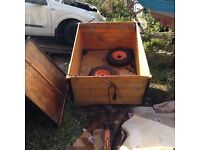 Trailer , ideal for camping