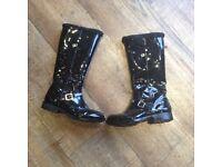 Lelli Kelly child's black boots