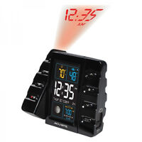 Acurite Intelli-Time Projection Alarm Clock with Temperature &