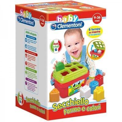 BABY CLEMENTONI Secchiello Forme e Colori 9-36 mesi