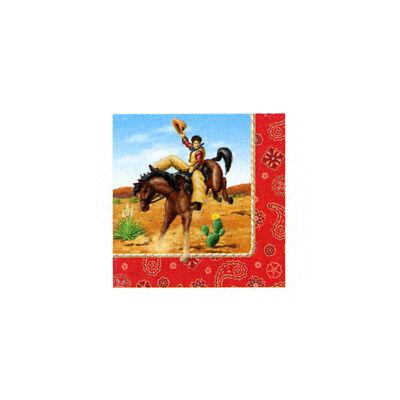 Rodeo Cowboy  Beverage Napkins (Cowboy Napkins)