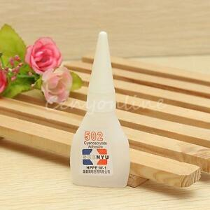 10g Genuine Cyanoacrylate Strong Adhesive Repair Bond Fast 502 Super Glue