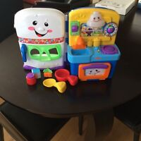 Fisher price laugh n learn kitchen