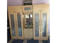 IKEA double wardrobe