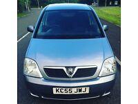 Vauxhall meriva silver 1.4 i 16v mpv
