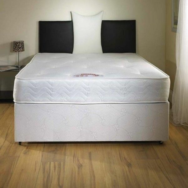 Brand new double divan bed and mattress in leith for Double divan bed no mattress