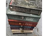 Full Song of Ice and Fire (Game of Thrones) book collection