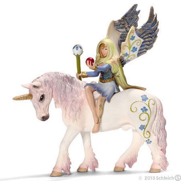 NEW SCHLEICH 70476 Bilara mounted on Unicorn Horse - Bayala Elven Character