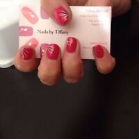 Christmas special- shellac nails- mobile service offered!