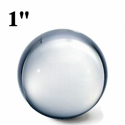 """(10) 1"""" Clear Glass Marbles for Paracord Monkey Fist Core"""