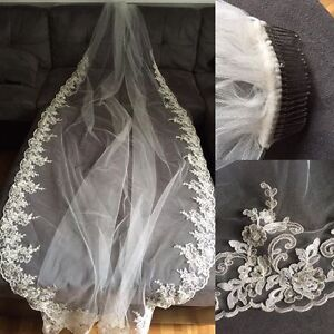 Cathedral Length Veil Ivory