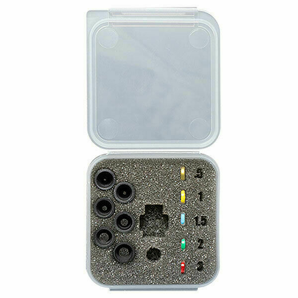 Specialty Archery Deluxe Podium Peep Kit contains all Apertures and Clarifiers