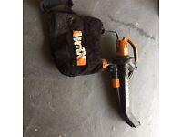 Worx garden blower mulcher and vacuum 3000w