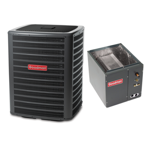 2.5 Ton 15 Seer Goodman Air Conditioning Condenser and Coil