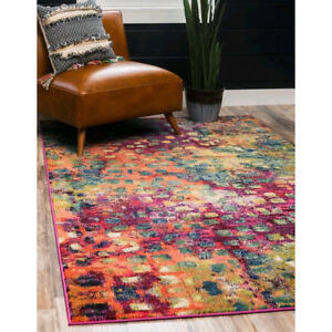 Gorgeous Abstract Rug - 8 x 10 Feet *NEW*
