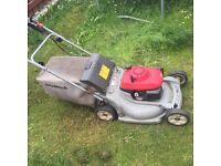 Honda lawnmower self drive 21 inch deck mulching mower hrm536