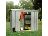 BRAND NEW 8'x4' YARDMASTER METAL GARDEN SHED AVAILABLE FOR COLLECTION ONLY