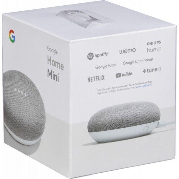 Google Home Mini Smart Small Speaker - Chalk Grey -  BRAND N