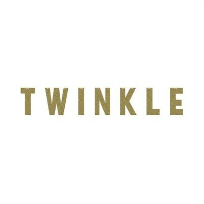 Twinkle Twinkle Little One (Twinkle Twinkle Little Star One Little Star Girl Birthday Party Supplies Banner)
