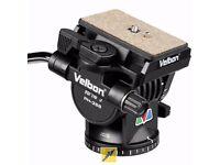 Velbon PH-368 Fluid Tripod Head (fits Velbon DV700 and all other tripods)
