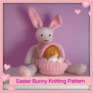 free easter bunny knitting patterns