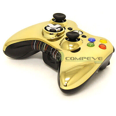 Microsoft XBOX 360 Chrome Gold Series Star Wars Edition C3PO Wireless Controller
