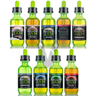 Space Jam Juice 60Ml All Flavors Highvg   Androm Astro Eclipse Meteor Milk Pluto
