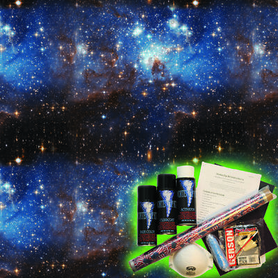 Hydrographics Dip Kit Activator Water Transfer Film Hydro Cosmic Dreams