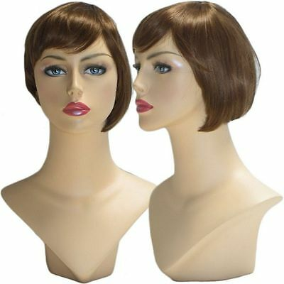 WG-036 Brunette Libby Wig (Halloween/Party/Costume/Cosplay) Wig - Halloween Wg Party