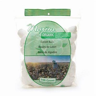 Maxim Hygiene Products Organic Cotton Balls, Jumbo Size 100 ea