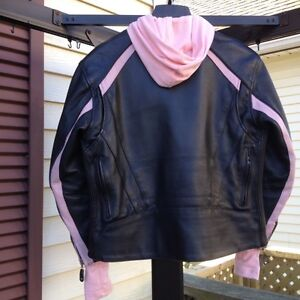 Womans Motorcycle jacket Cambridge Kitchener Area image 3