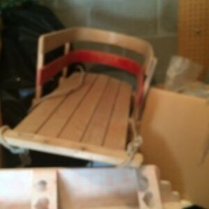2childs sleds. Ps $75 each sell $20 each