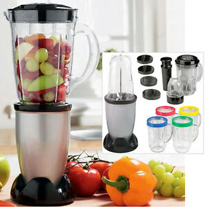 17PC MULTI BLENDER FOOD PROCESSOR JUICER SMOOTHIE MAKER LIQUIDISER MIXER CHOPPER