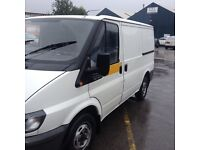 Ford transit low mileage ready for work