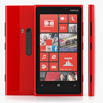 Nokia Lumia 920 - 32GB - Red (Unlocked) Smartphone - Free Shipping - US Seller