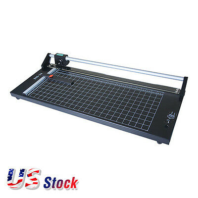 Us - 24 Inch Manual Precision Rotary Paper Trimmer Sharp Photo Paper Cutter