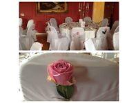 Wedding chair covers linen 145