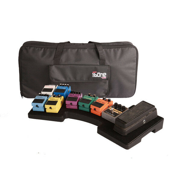 Gator G-MEGA-BONE Guitar Pedal Board w/ Carry Bag & Power Supply