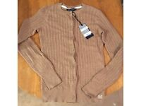 Crew Cable Cardigan size 8