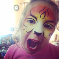 Face painting - belly painting - photo booth