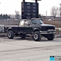 96 Obs f250 lifted 7.3 powerstroke