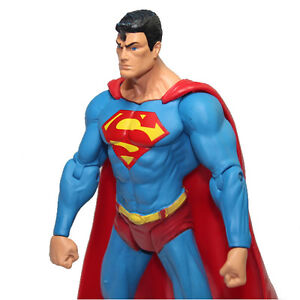 HOT DC Comics Super Man 7inch/18cm Loose Action Figure SUPERMAN