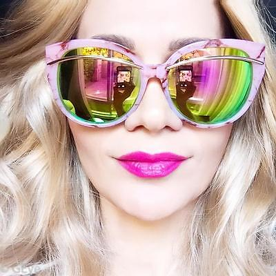 High Top Acetate Cat Eye Metal Arms Fashion Aviator Big Designer Sunglasses 2331