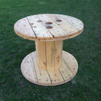 Wooden Electrical Wire Spool