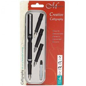 Manuscript Classic Creative 4 Calligraphy Pen Writing Set