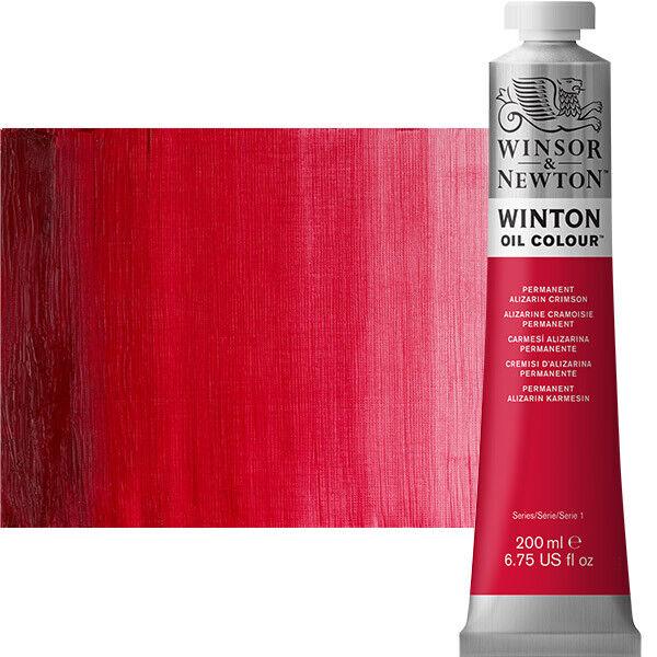 Winton Oil Color 200 ml Tube - Permanent Alizarin Crimson