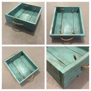 Homemade Pallet Table Trays